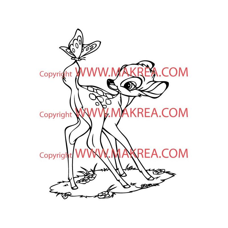 Sticker Bébé à Bord - Hippopotame Coeur