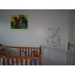 Sticker Personnalisé Bébé à Bord Tigrou Bébé Heureux