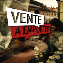 Sticker Vitrine Restaurant Vente à emporter