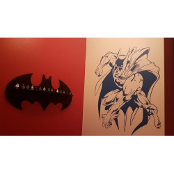 Sticker Batman attaque