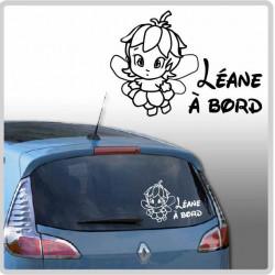Sticker Bébé à Bord - Petite Fée