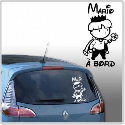 Sticker Bébé à Bord - Petit Prince