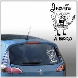 Sticker Bébé à Bord - Bob éponge