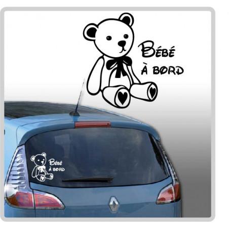 Sticker Bébé à Bord - Ourson