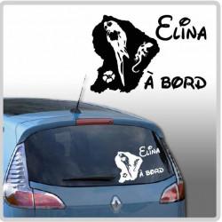 Sticker Bébé à Bord - Guyane 973