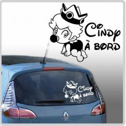 Sticker Bébé à Bord - Bébé Couronne