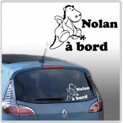 Sticker Bébé à Bord - Noukie's  Victor Baguette