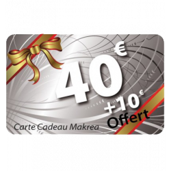 Carte cadeau 40€ valeur 50€