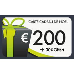 Carte cadeau 200€ valeur 230€