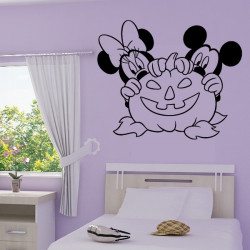 Mickey Minnie Citrouille Halloween