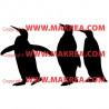 Sticker 3 Pingouins