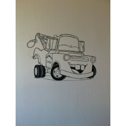 Sticker Cars - Martin le dépanneur