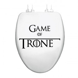 Sticker Abattant WC - Game...
