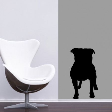 Sticker Bouledogue Anglais