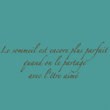 """Phrase perso """"Sommeil"""""""