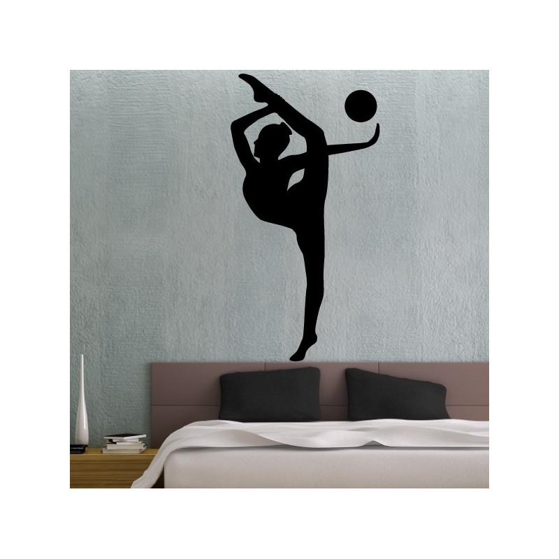 Sticker Gymnastique Rythmique Ballon