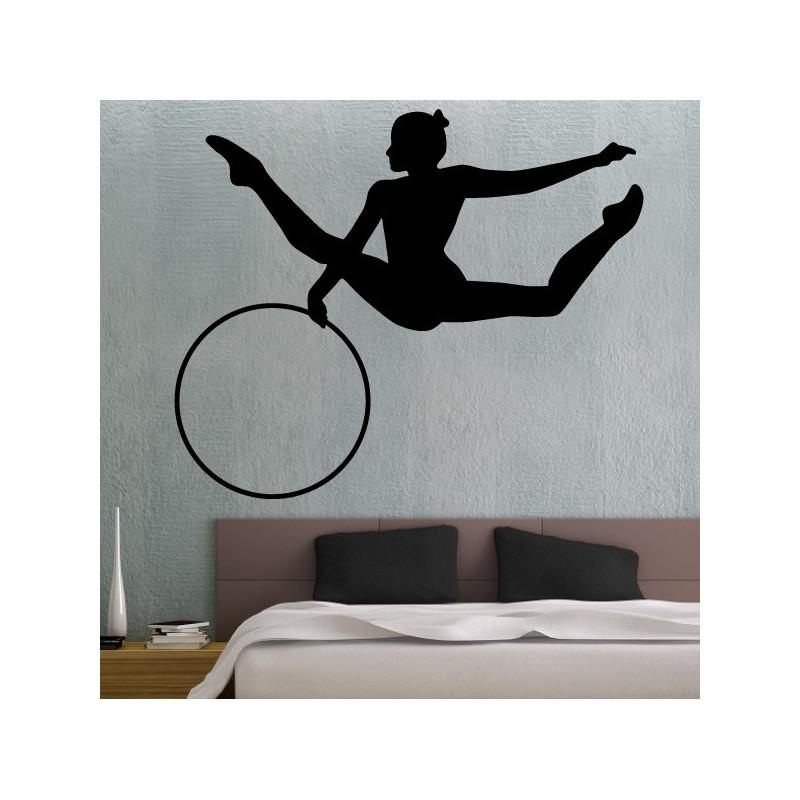Sticker Gymnastique Rythmique Cerceau