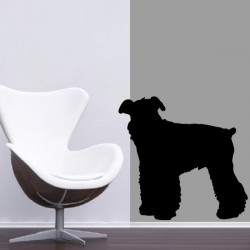 Sticker Chien Fox Terrier