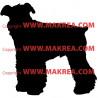 Sticker Chien Fox Terrier