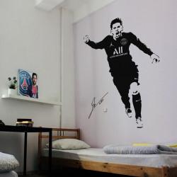 Sticker Lionel Messi marque un but