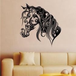 Sticker cheval ornements...
