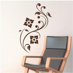 Sticker Nature - Fleurs décoratives arabesques