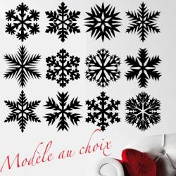 Noël - Flocon de neige - Modèle au choix