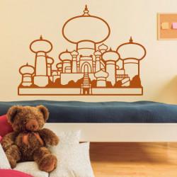 Sticker Aladdin - Palais du sultan