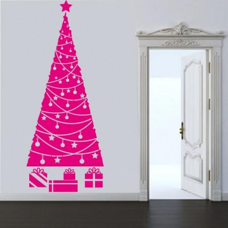 Sapin de Noël Guirlandes et cadeaux