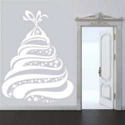 Arbre de Noël Design Etoiles et Boules