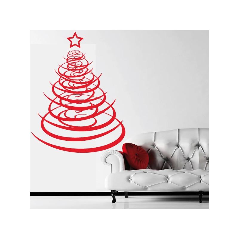 Sticker Arbre de Noël Design 2