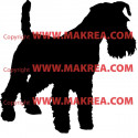 Sticker Chien Fox Terrier 2