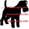 Sticker Chien Fox Terrier 2