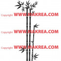 Sticker Bambou 3 branches Zen