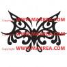 Sticker Papillon Design 3