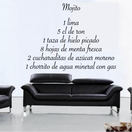 Recette Mojito 80x60cm