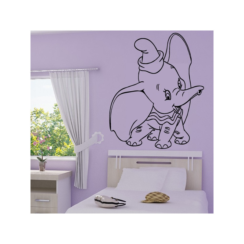 Sticker Dumbo l'éléphant
