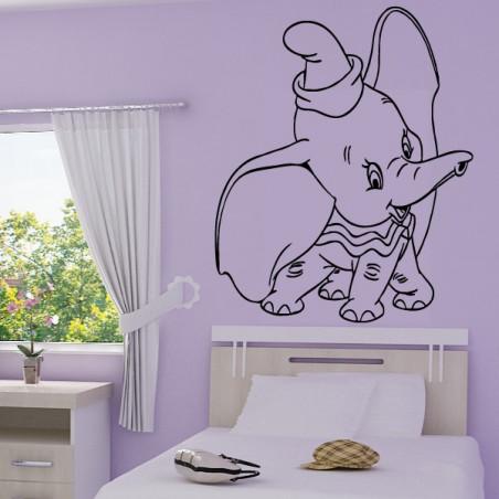 Sticker Dumbo l'éléphant