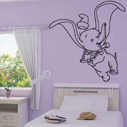 Sticker Dumbo Heureux