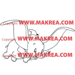 Sticker Dumbo Vol