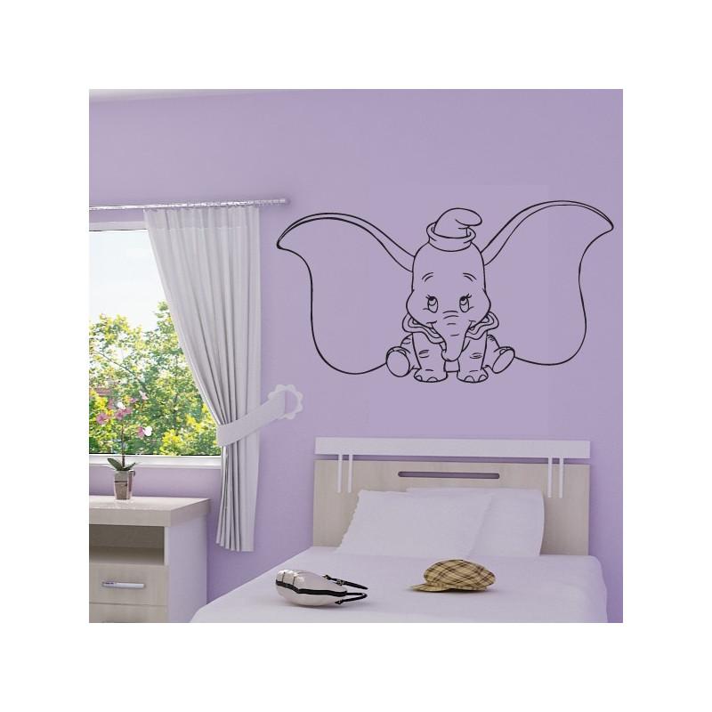 Sticker Dumbo Oreilles écartées