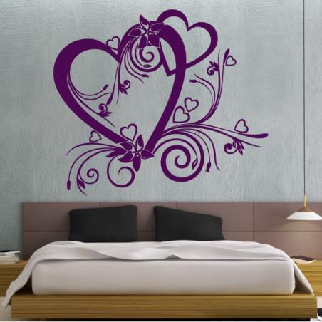Sticker Coeur Baroque St Valentin
