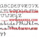 Sticker Lettre Alphabet - Ecriture école