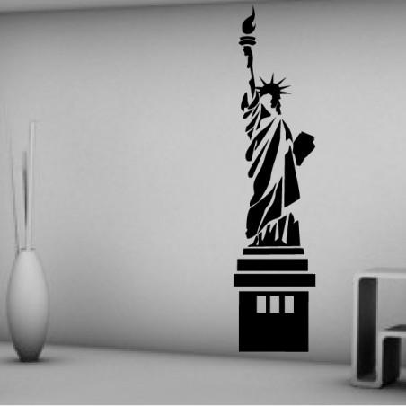 Statue de la Liberté New-York Reflets
