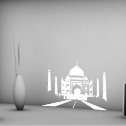 Taj Mahal et Jardin