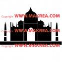 Sticker Taj Mahal 2