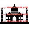 Sticker Taj Mahal 3