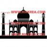 Sticker Taj Mahal 3