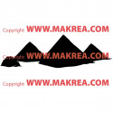 Sticker Pyramides d'Egypte