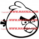 Sticker Angry Birds - Red Bird